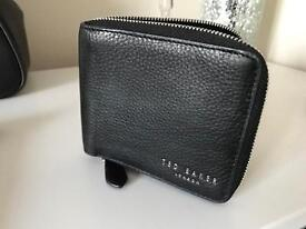 Mens Ted baker leather wallet new with tags