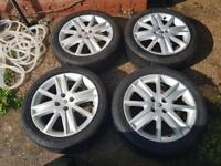 alloys wheels good excellent condition