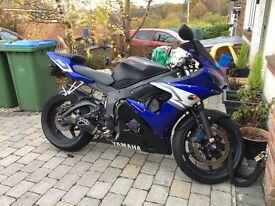 Yamaha r6 road bike and track bike!