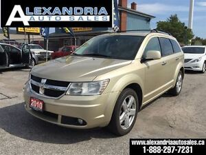 2010 Dodge Journey R/T LEATHER NAVI 107 km AWD