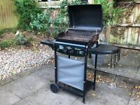 Gas barbecue & 13kg gas bottle