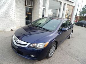 2009 Acura CSX LEATHER SUNROOF 5 SPEED MANUAL