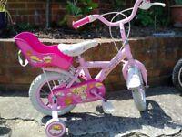 "Girls bike 12 "" wheel Apollo Cup Cake Bike"