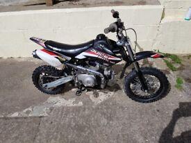 Stomp pitbike motorcycle