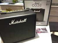 Marshall Code 25 Amplifier (as new, boxed)