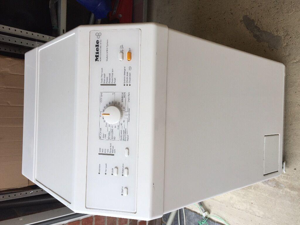 top loading washing machines miele washing machine w163 top loader in fareham 31305