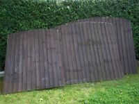 GARDEN OVERLAP FENCE PANELS AND POSTS / GRAVEL BOARDS