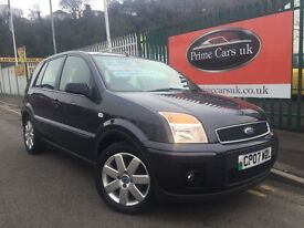 Ford Fusion 1.6 Zetec Climate 5dr Automatic Low Miles Drives Like New