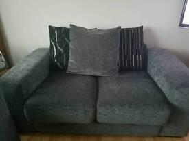 *Price drop* 3+2 charcoal grey sofas