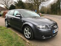 Audi A3 Tdi SportBack, Full service history, 1year mot, Full heated leather, New clutch, New cambelt