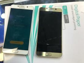 Samsung Note 5, 32 GiG, White & Gold, Unlocked,