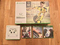 Xbox One S 500GB With FIFA17 + Extra Controller & 3 Games. Brand New