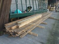 "4"" x 2"" timber 16 - 18ft lengths just £6 per length"
