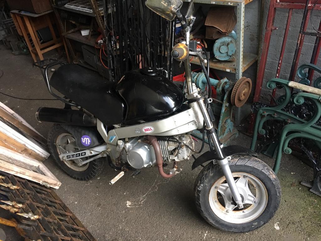 125cc monkey bike good runner / fun field bike / open to offers / swaps / anything interestingTRY ME
