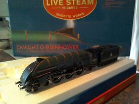 Hornby live steam Dwight D Eisenhower.