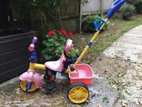 Little Tikes Trike with safety harness, all working