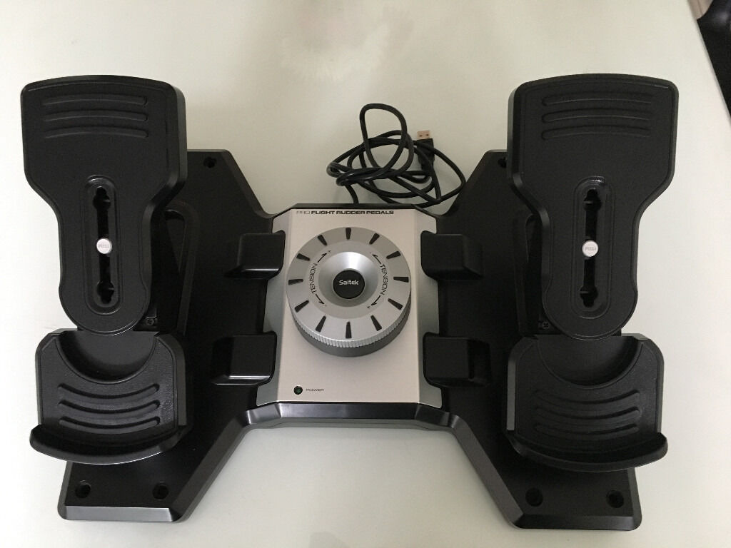 Saitek Pro Flight Rudder Pedals for PC (Negotiable) | in Golders