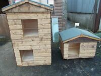 TOP QUALITY STRONG DOG KENNELS AND GARDEN SHEDS.
