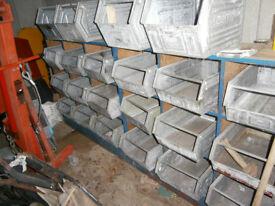 Galvanised Storage Bins