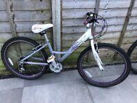 "Raleigh Swirl girls bike. 12"" frame and 20"" wheels . Good condition. £30"