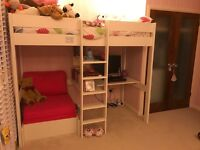 Fantastic, Great Quality Stompa High Sleeper Style Bed - Excellent Condition