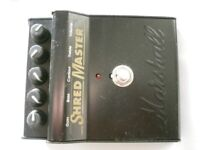 Marshall Shred Master stompbox /pedal/effects unit for electric guitar - England '90s