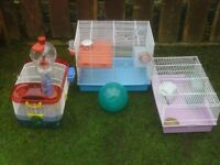 HAMSTER CAGES £6 TO £12
