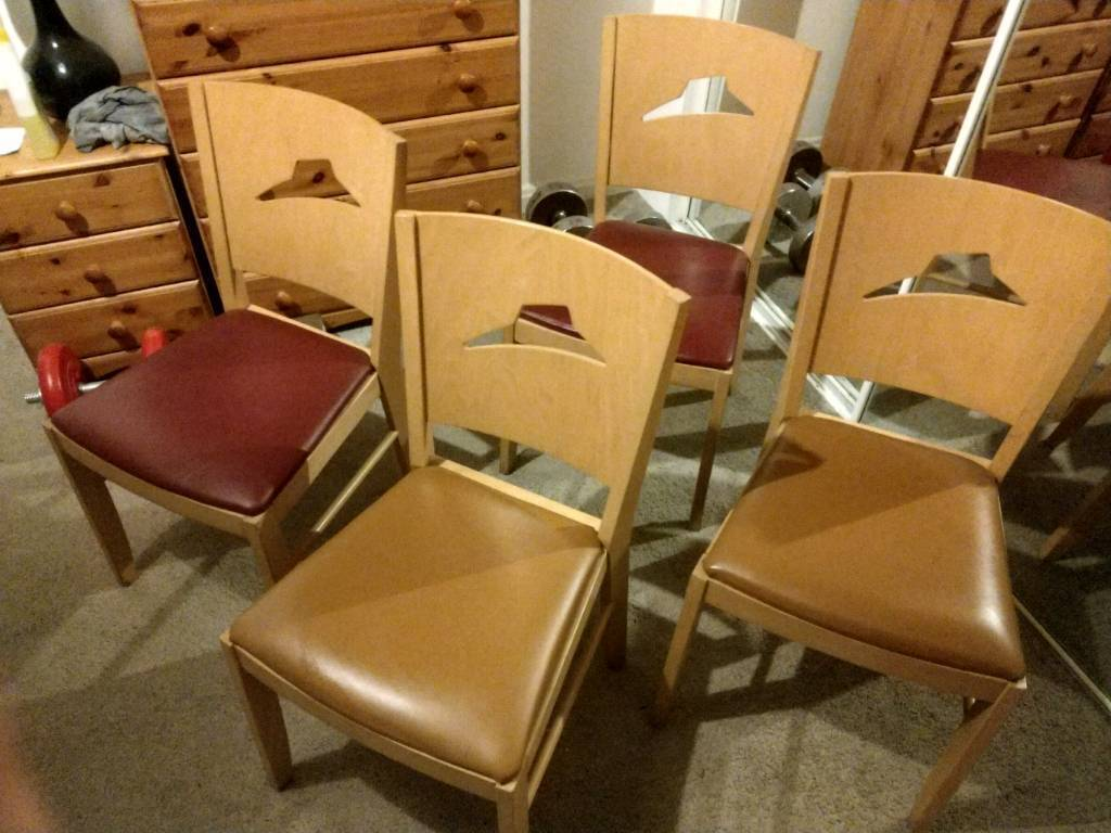 4 Pizza Hut Chairs In Ayr South Ayrshire Gumtree