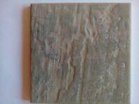 10 cm x 10 cm Pilkington wall tiles, Slate colour. £2 per box of 25