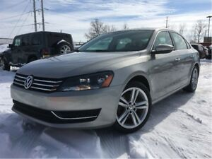 2012 Volkswagen Passat 2.5L Comfortline LEATHER MOONROOF BIG MAG
