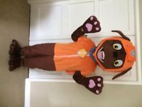 UK SELLER new adult look alike Zuma Mascot Costume fancy dress Dog Dress