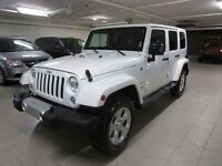 2015 Jeep WRANGLER UNLIMITED SAHARA 4X4 *AUTOMATIQUE/NAV*