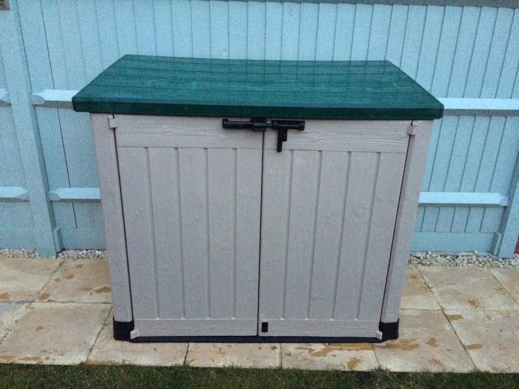 Garden storage shed-Bin Shed