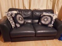 Leather 2 Seater Sofa - Excellent Condition