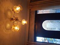 Gorgeous vintage ceiling lights