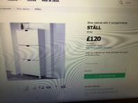IKEA STALL white Shoe cabinet vgc