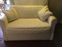 IKEA SOFA BED WITH WASHABLE COVERS