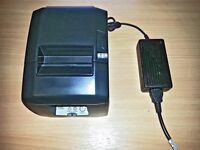 Star TSP650 Thermal Receipt Printer with PSU - USB Interface