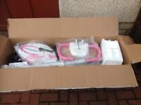 PINK AND WHITE ULTRA SPORT BRAND NEW