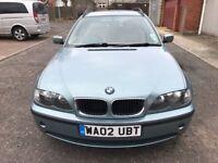 2002 BMW 3 Series 2.0 320d SE Touring 5dr Manual @07445775115