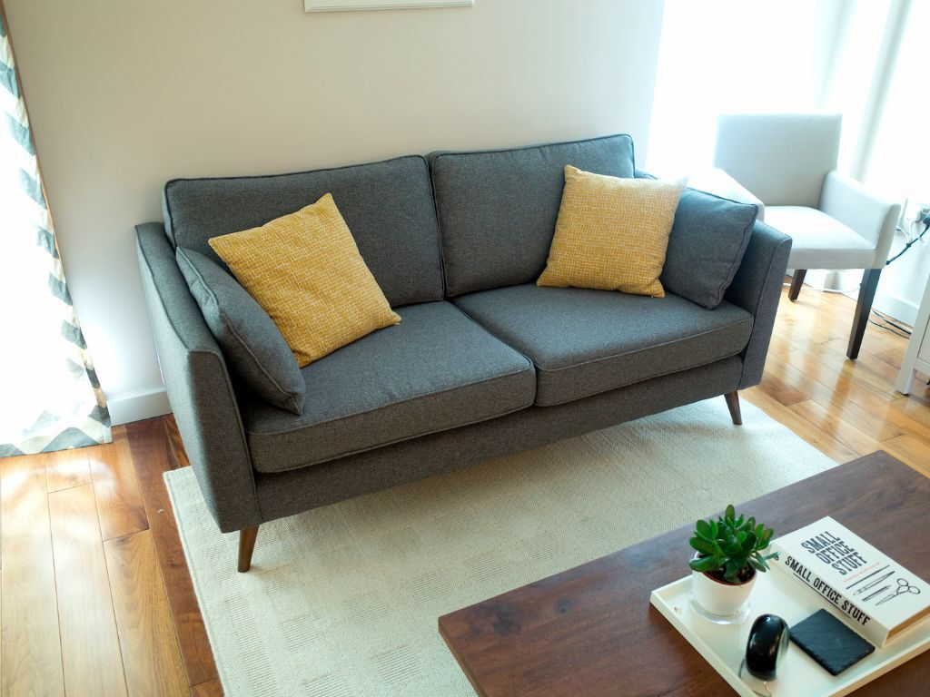 Grey Sofa Perfect Condition Sofa Workshop In Kings