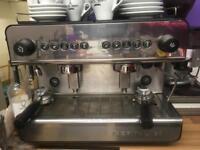 3 year old IBERITAL IB7 coffee machine and Grinder