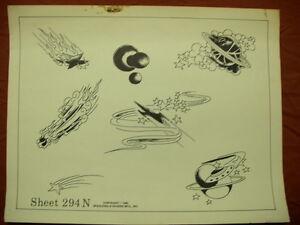 1980 spaulding rogers flash art space designs page 294n ebay for Spaulding rogers tattoo