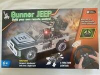 Build your own RC Gunner Jeep