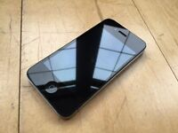 I PHONE IPHONE 4, ALL NETWORKS UNLOCKED, 16GB, BLACK, EXCELLENT CONDITION, BOXED WITH ALL ACCESSORY