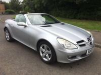 Mercedes-Benz SLK 1.8 SLK ,200 Kompressor AUTOMATIC , F/S/HISTORY , MOT MAY 2018 , Convertible