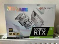 Sealed warranty RTX 3060 Ti Zotac AMP White Edition GAMING GeForce nvidia