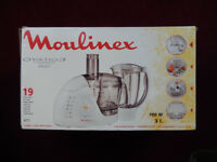 MOULINEX FOOD PROCESSOR + BLENDER NEW IN BOX EXCELLENT XMAS GIFT. BNIB
