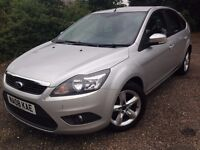 Ford Focus Zetec 100 2008 Facelift 1.6 Petrol Manual Some service History 11 Month's MOT