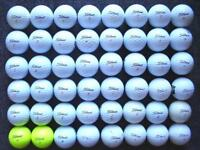 48 Titleist golf balls in very good condition DT solo, tour distance, velocity, trusoft